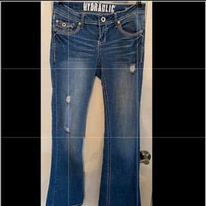 Hydraulic Size 7/8 Juniors Jeans
